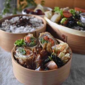 【レシピ】揚げ肉巻きのオイ味噌照り焼き#作り置き#お弁当おかず#ボリュームおかず#アスリート弁当 …二個弁と朝ごはん。