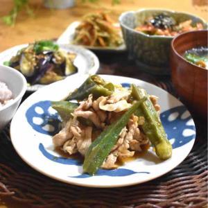 【レシピ】豚しゃぶとオクラのねぎ南蛮酢#作り置き#夏野菜#ご飯のおかず#お弁当おかず