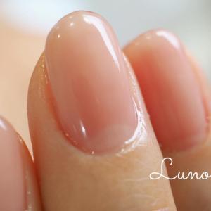 健康的な爪色ピンク。