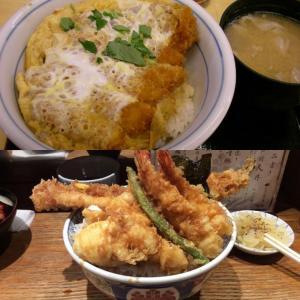 カツ丼 vs 天丼(食べ物の好み)
