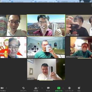 全国の「まちゼミ」仲間と交流と情報交換のZoomオンライン飲み会をしました