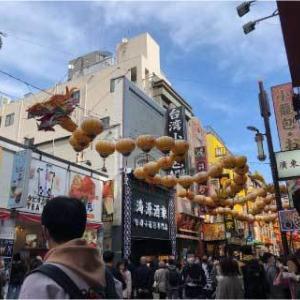 秋のローズ&ガーデンマーケット2020 *中華街から日本大通り*