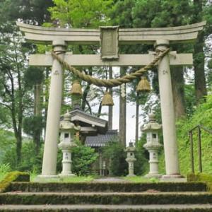 ◇金沢市の神社・狛犬巡り‐38 下谷町日吉神社、高杉神社、大杉少彦名神社、少彦神社