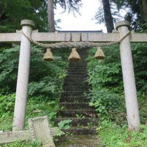 ◇金沢市の神社・狛犬巡り‐45 清瀬町日吉神社、倉ケ嶽白山神社、事比羅神社、小原町八幡神社
