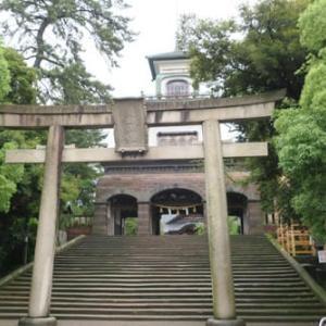 尾山神社茅の輪くぐり 2020