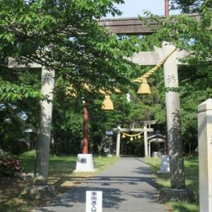 ◇神社・狛犬巡り(川北町編)④橘少名彦神社、朝日少彦神社、冨田少彦名神社