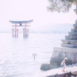 今日の写真「真夏の宮島」-風景