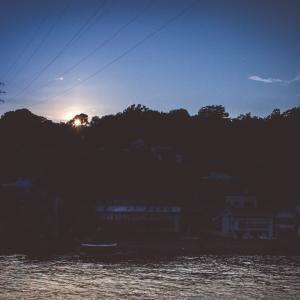今日の写真「陽の沈む時」-風景
