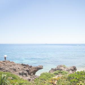 今日の写真「カベール岬の水平線」-風景