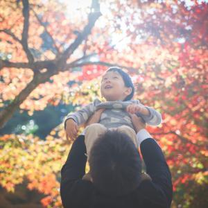 今日の写真「紅葉に囲まれて」-出張撮影