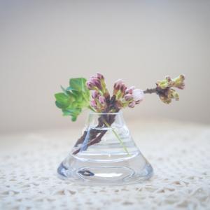 今日の写真「ちっちゃな花瓶」-テーブルフォト