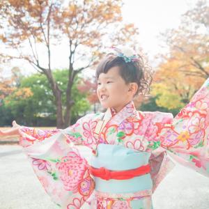 今日の写真「子供は動き回りたい、七五三写真」-出張撮影