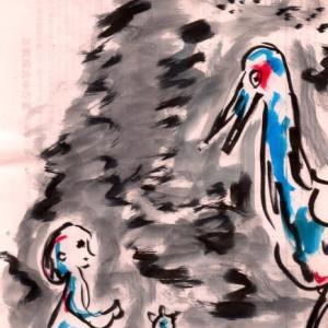 Asanikki 190925 音楽紙芝居no 460ちいさな種の旅など Tiny Seeds Traveling Far