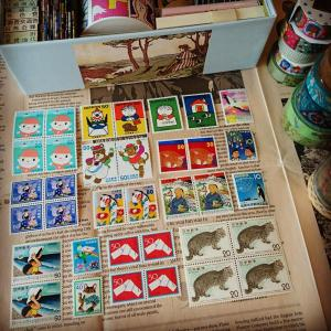 切手の博物館で切手を調達!