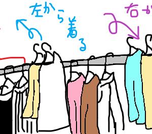 簡単で悩まないくじ引き的、服のコーディネート方法