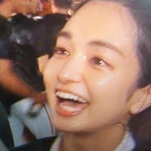 、、もっと頂だい #後藤晴菜 アナ 顔面にエライ物をシャワー 俗にいう #顔シャ されるが恍惚の顔(#^.^#)をする。