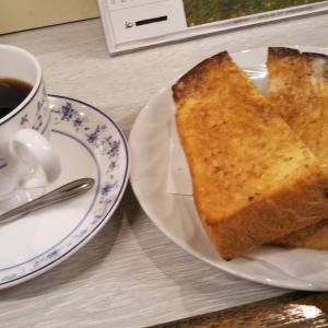 プレイバック #本日のモーニングセット  やっぱり朝のトーストは #厚切りトースト やで! #喫茶ヒデ 鶴橋 にて