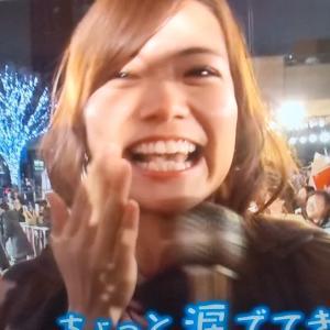 #斎藤真美 アナ スターウォーズの取材で泣く!  #おはようコールABC #おはようコール より #ちょっとぷれいばっくします
