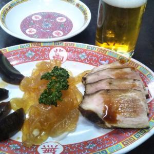 #冷菜三品盛り #町中華 でならこれで1時間は飲んでられる。 #とにかく呑もうよ倶楽部
