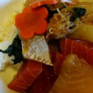 #海鮮丼 お造りの残り物でもそれなりに存在感 #Twitter家庭料理部