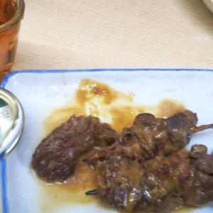 #陶陶酒 ( #デルカップ ) これに合うのは やっぱり #どて焼き  大阪で飲む日和  ㊸