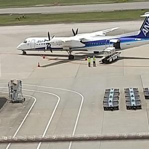 プレイバック ANA夏と冬のボーナスを支給しないと労働組合に提案。 今は耐えるときだ、、、、 #いまそら #イマソラ 伊丹空港でこの写真撮った翌日の発表。