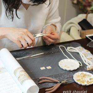 【レッスンレポート】ビジューアクセ教室開講コース
