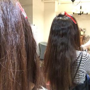 クセ毛美容師のクセと縮毛矯正の施術例!