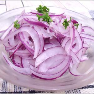 紫たまねぎのオニオンスライスサラダ