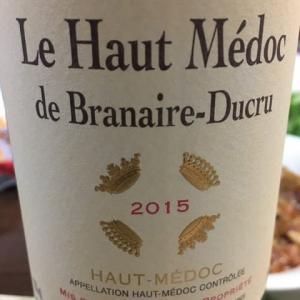 ル・オー・メドック・ド・ブラネール・デュクリュ