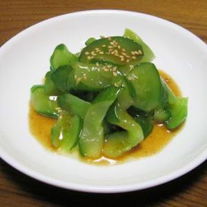 ミツカン「MYぽん酢シリーズ」・・・「麻辣ぽん」で、簡単きゅうり料理