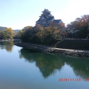 岡山後楽園と岡山城の紅葉(2019/11/23)