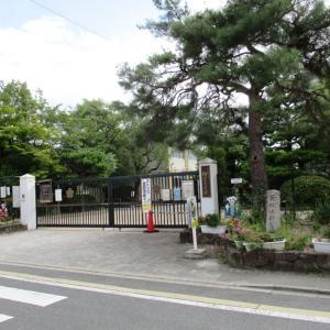 【京都歩き】仁和寺の南 「健康法師旧跡長泉寺」道標