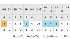 LPGA海外メジャー 全英女子OP 渋野日向子が2位Tの好発進