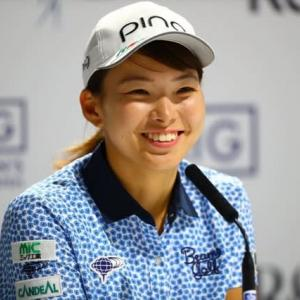 LPGA海外メジャー 全英女子OP3日目 渋野日向子が首位に。