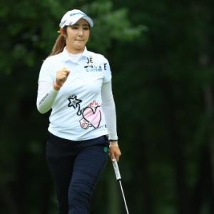 LPGA国内ツアー 北海道MeijCup2日目はぺソンウ選手が首位に浮上