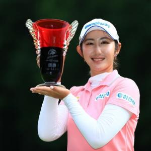 LPGA国内ツアー 北海道MeijCupはぺソンウ選手が優勝