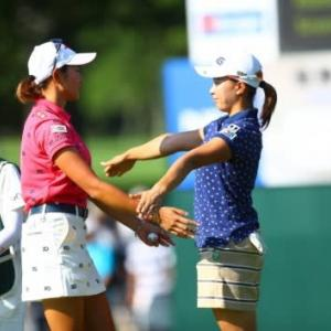 LPGA国内ツアー NEC軽井沢72 2日目は混戦模様となってきました