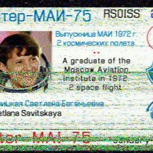 ISS SSTV画像受信