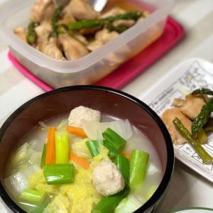 今日は出勤するけど、感染が気になる・・・作り置き料理、野菜鍋