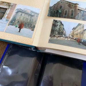 大作業の写真の整理とアルバム探し9000歩、色々ありました。