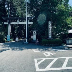 白山ひめ神社、気多大社の旅。光の輪が😇