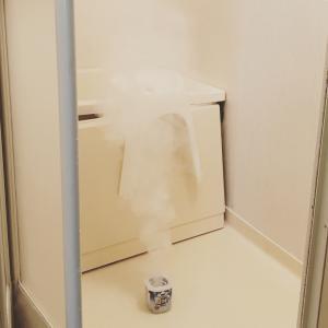 ▼浴室掃除ですっきり♪
