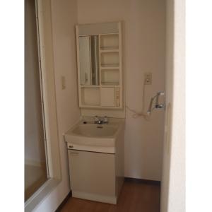 ▼今の家の洗面所