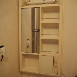 ▼【洗面所DIY】#4 洗面台の鏡部分の外し方・・よりもよく聞かれること