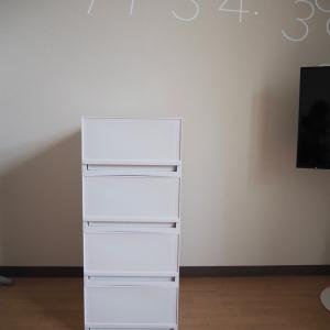 ▼【洗面所DIY】#8 洗面台横に収納チェストを購入!合わせたぴったりサイズで木工◎