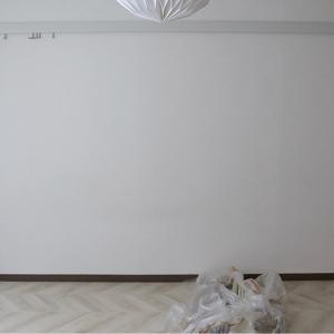 ▼こども部屋 壁紙DIY#3 ピクチャーレールから下に貼る。