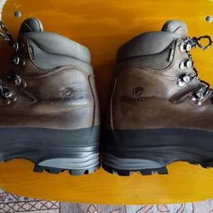 SCARPA登山靴のその後