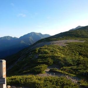 リベンジ「釜ノ島山」を目指す(茶臼小屋~光岳へ)