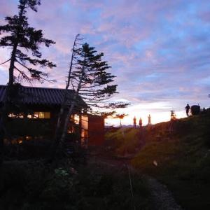 リベンジ「釜ノ島山」光岳を下山